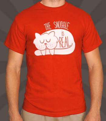 SnuggleIsReal_t_shirt_red